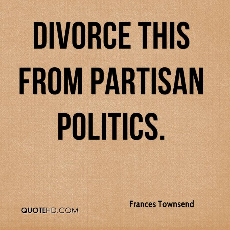 divorce this from partisan politics.