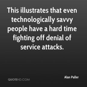 This illustrates that even technologically savvy people have a hard time fighting off denial of service attacks.