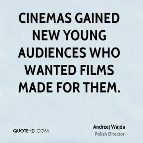 Cinemas gained new young audiences who wanted films made for them.