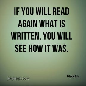 If you will read again what is written, you will see how it was.