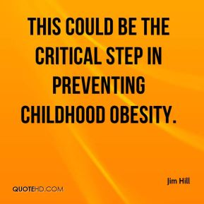 This could be the critical step in preventing childhood obesity.