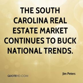 The South Carolina real estate market continues to buck national trends.