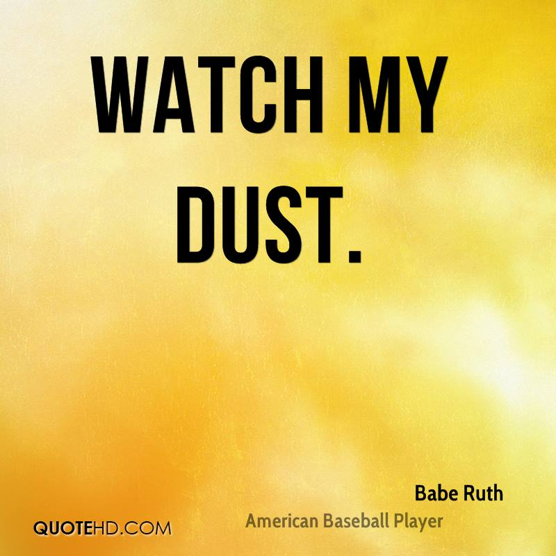 Babe Ruth Quotes Fascinating Babe Ruth Quotes QuoteHD