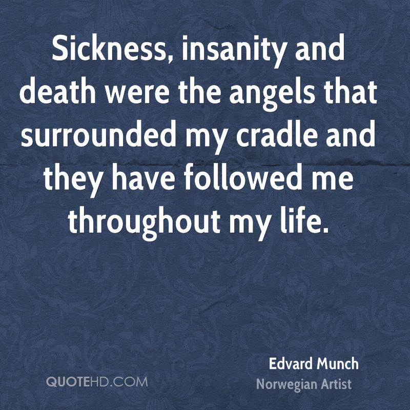 Edvard Munch Death Quotes | QuoteHD