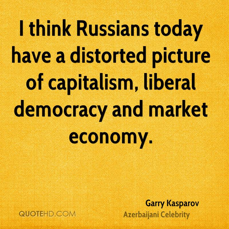 quotes about democracy and capitalism relationship
