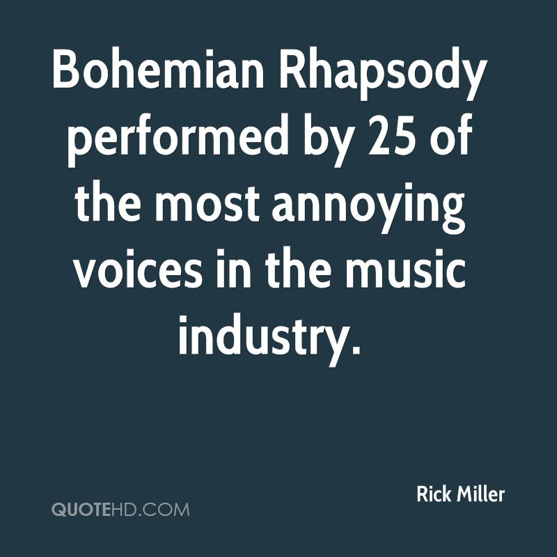 Bohemian Rhapsody performed by 25 of the most annoying voices in the music industry.
