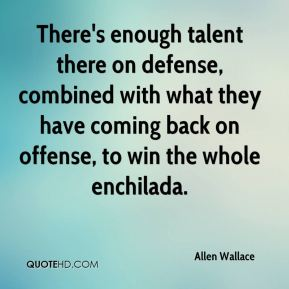There's enough talent there on defense, combined with what they have coming back on offense, to win the whole enchilada.