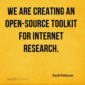 We are creating an open-source toolkit for Internet research.