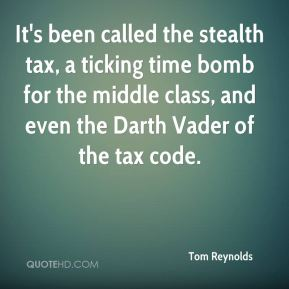 Tom Reynolds  - It's been called the stealth tax, a ticking time bomb for the middle class, and even the Darth Vader of the tax code.