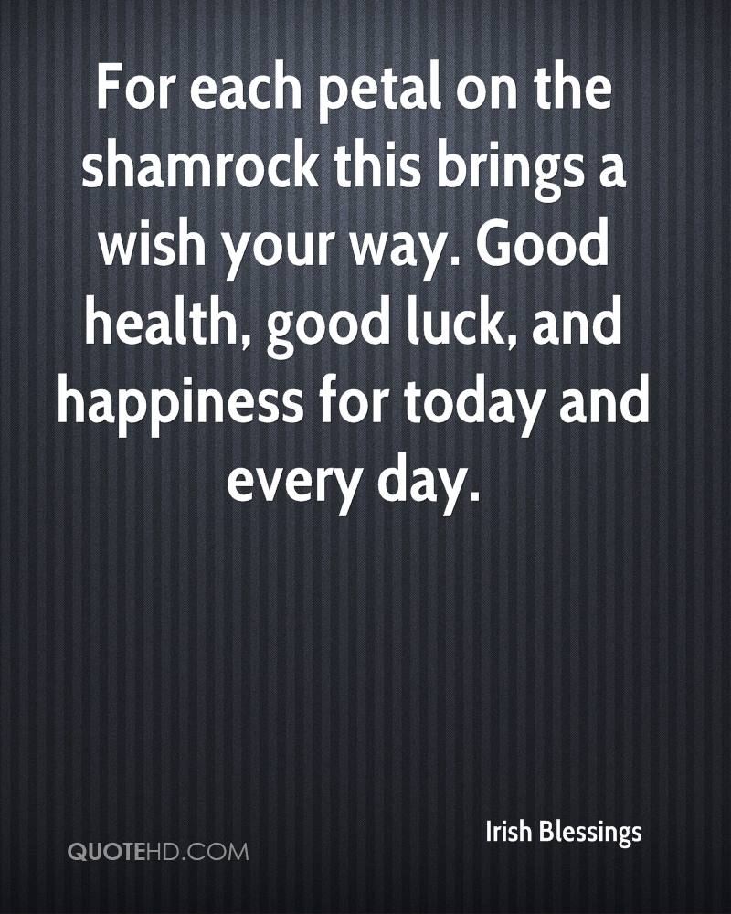 Good Health Quotes Irish Blessings Quotes  Quotehd
