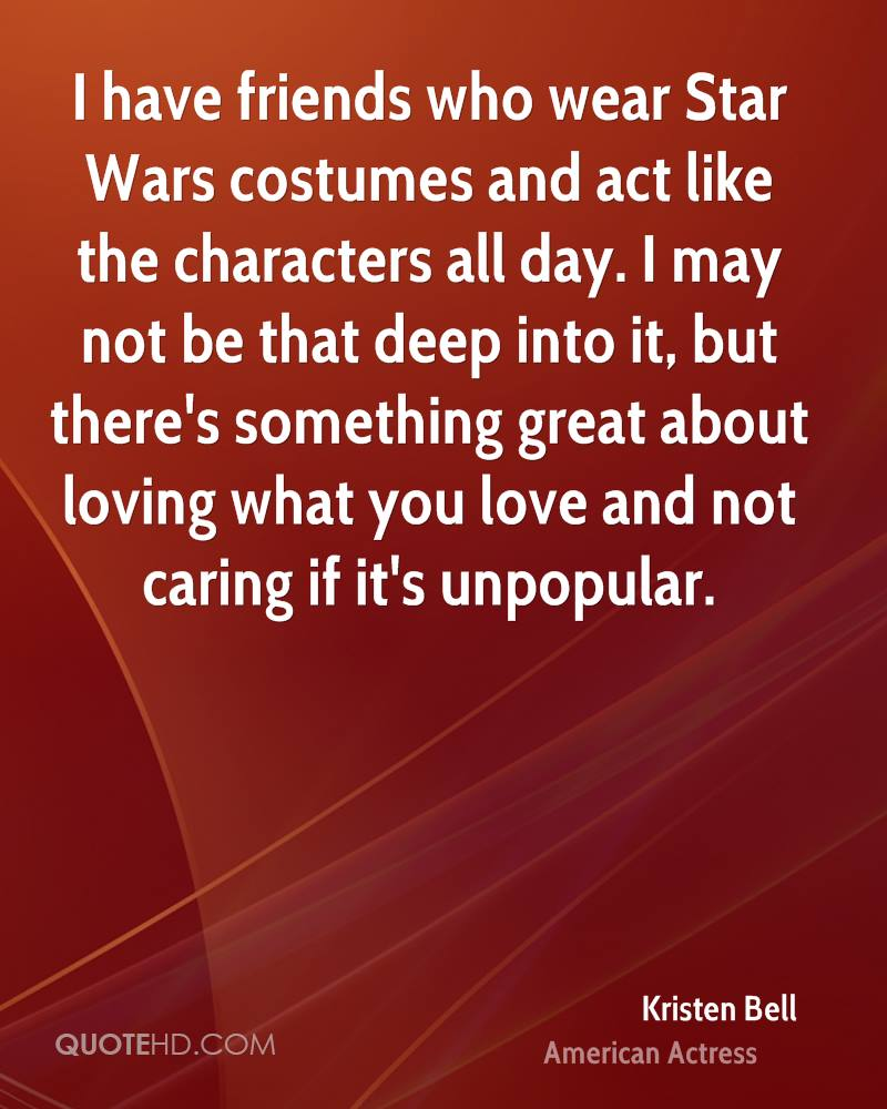 Star Wars Love Quotes Kristen Bell Quotes  Quotehd