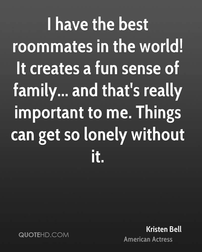 Kristen Bell Family Quotes   QuoteHD