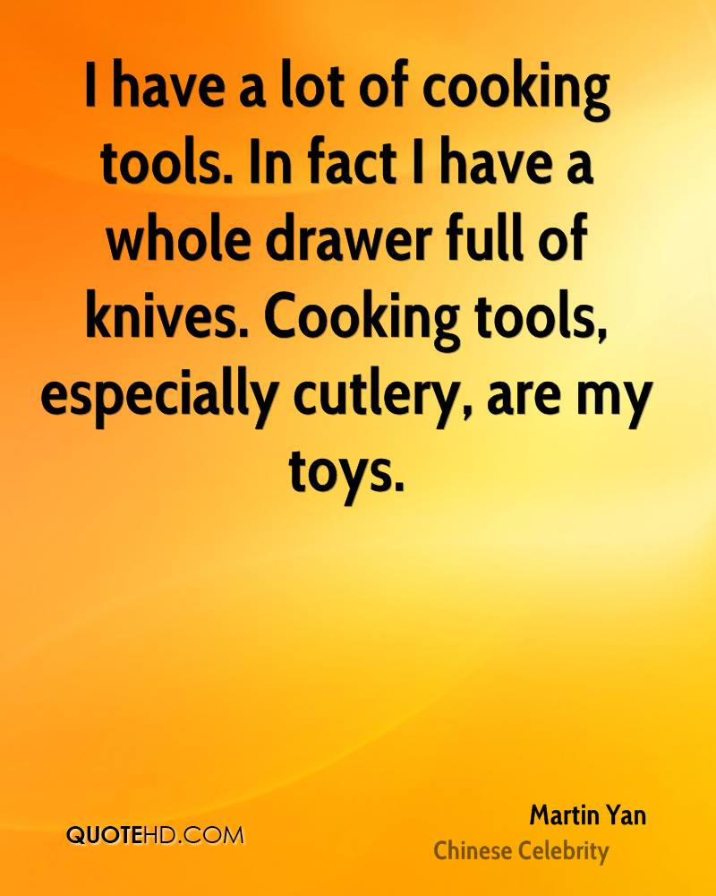 I have a lot of cooking tools. In fact I have a whole drawer full of knives. Cooking tools, especially cutlery, are my toys.