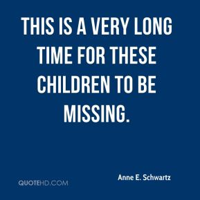 This is a very long time for these children to be missing.