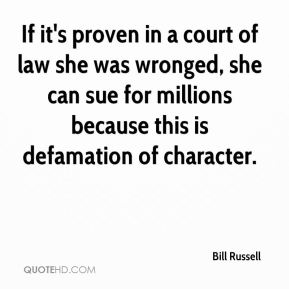 If it's proven in a court of law she was wronged, she can sue for millions because this is defamation of character.