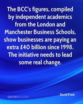 The BCC's figures, compiled by independent academics from the London and Manchester Business Schools, show businesses are paying an extra £40 billion since 1998. The initiative needs to lead some real change.
