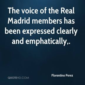The voice of the Real Madrid members has been expressed clearly and emphatically.