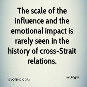 The scale of the influence and the emotional impact is rarely seen in the history of cross-Strait relations.