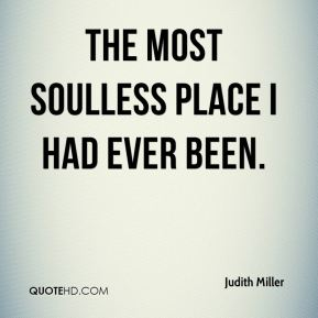 the most soulless place I had ever been.