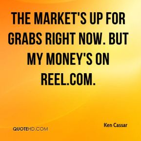 The market's up for grabs right now. But my money's on Reel.com.