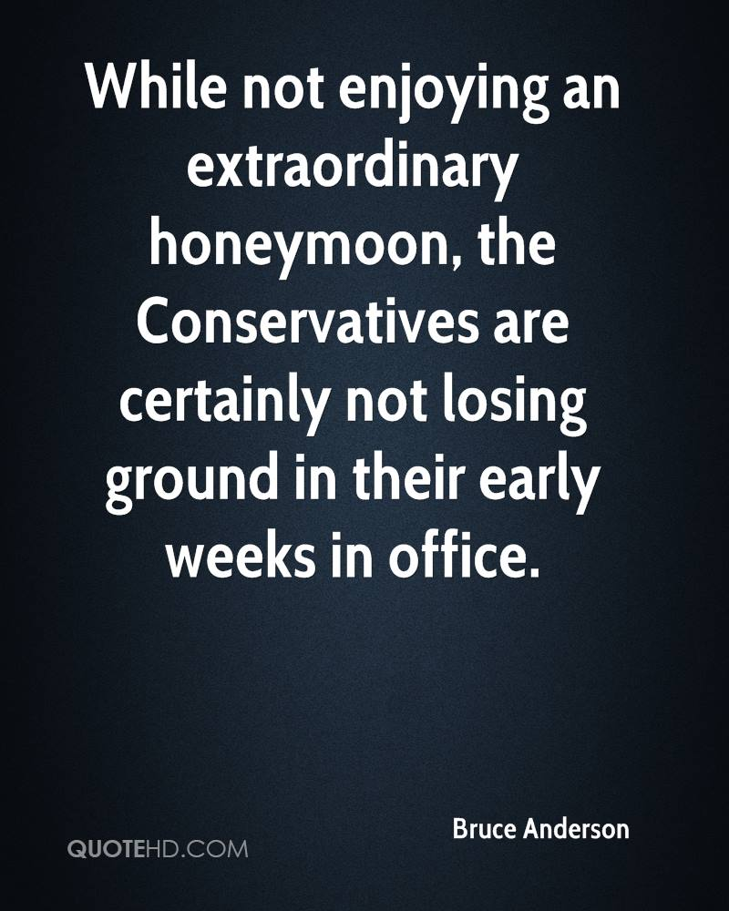 While not enjoying an extraordinary honeymoon, the Conservatives are certainly not losing ground in their early weeks in office.
