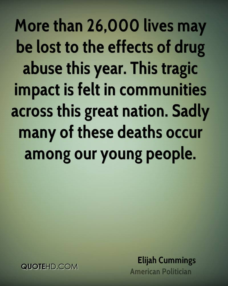 the effect of drug abuse Find out about the most commonly used illegal drugs in england and wales, including nps, cannabis, cocaine and ecstasy, and the effects they can have on your health.