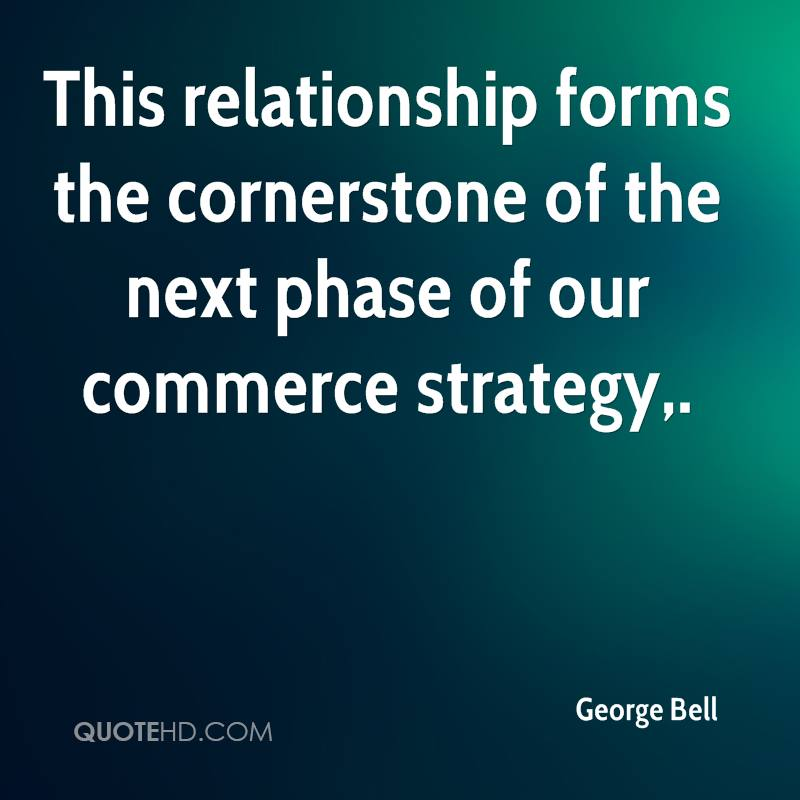 This relationship forms the cornerstone of the next phase of our commerce strategy.
