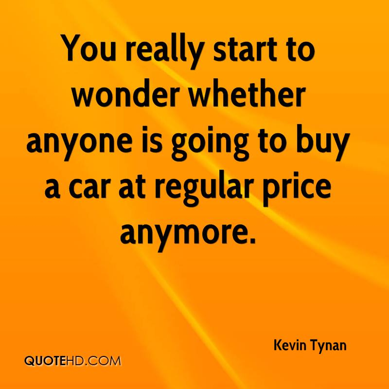 You really start to wonder whether anyone is going to buy a car at regular price anymore.