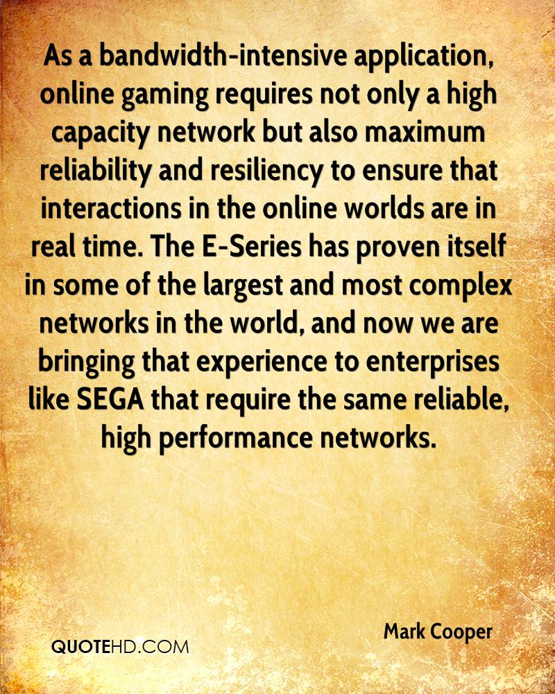 As a bandwidth-intensive application, online gaming requires not only a high capacity network but also maximum reliability and resiliency to ensure that interactions in the online worlds are in real time. The E-Series has proven itself in some of the largest and most complex networks in the world, and now we are bringing that experience to enterprises like SEGA that require the same reliable, high performance networks.