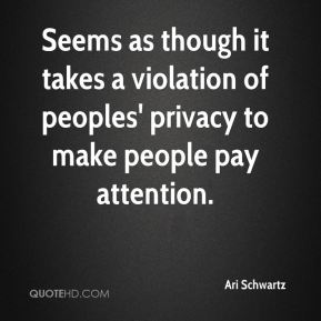 Seems as though it takes a violation of peoples' privacy to make people pay attention.