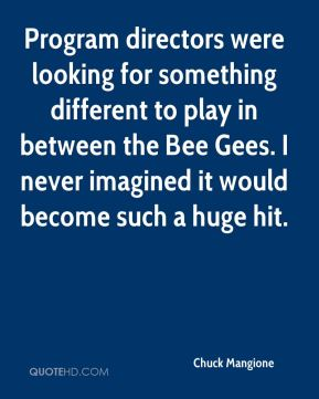 Chuck Mangione - Program directors were looking for something different to play in between the Bee Gees. I never imagined it would become such a huge hit.