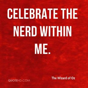 celebrate the nerd within me.