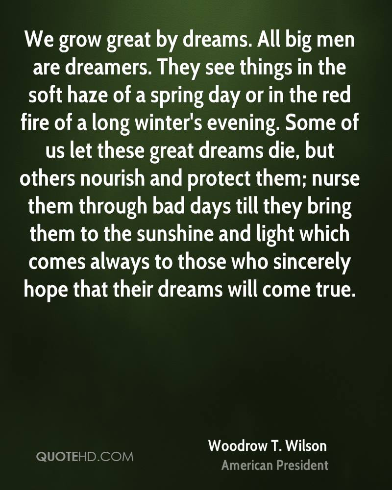 Quotes about dreams. Sayings of great people about a dream 26