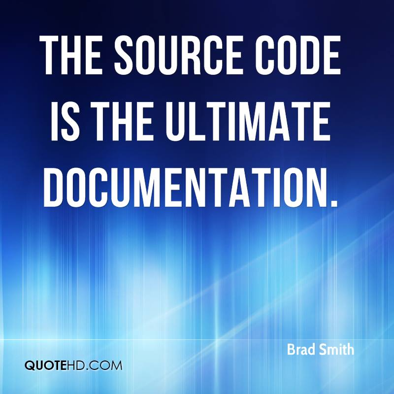 The source code is the ultimate documentation.