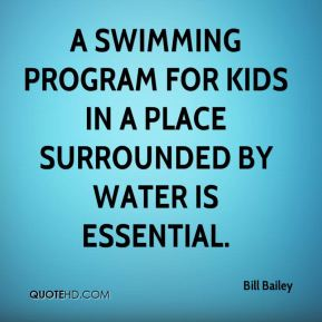 A swimming program for kids in a place surrounded by water is essential.