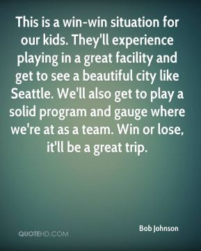 This is a win-win situation for our kids. They'll experience playing in a great facility and get to see a beautiful city like Seattle. We'll also get to play a solid program and gauge where we're at as a team. Win or lose, it'll be a great trip.