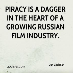 Piracy is a dagger in the heart of a growing Russian film industry.