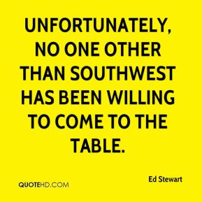 Unfortunately, no one other than Southwest has been willing to come to the table.