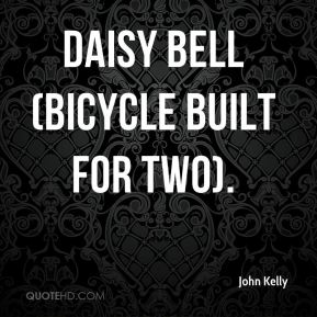 Daisy Bell (Bicycle Built for Two).