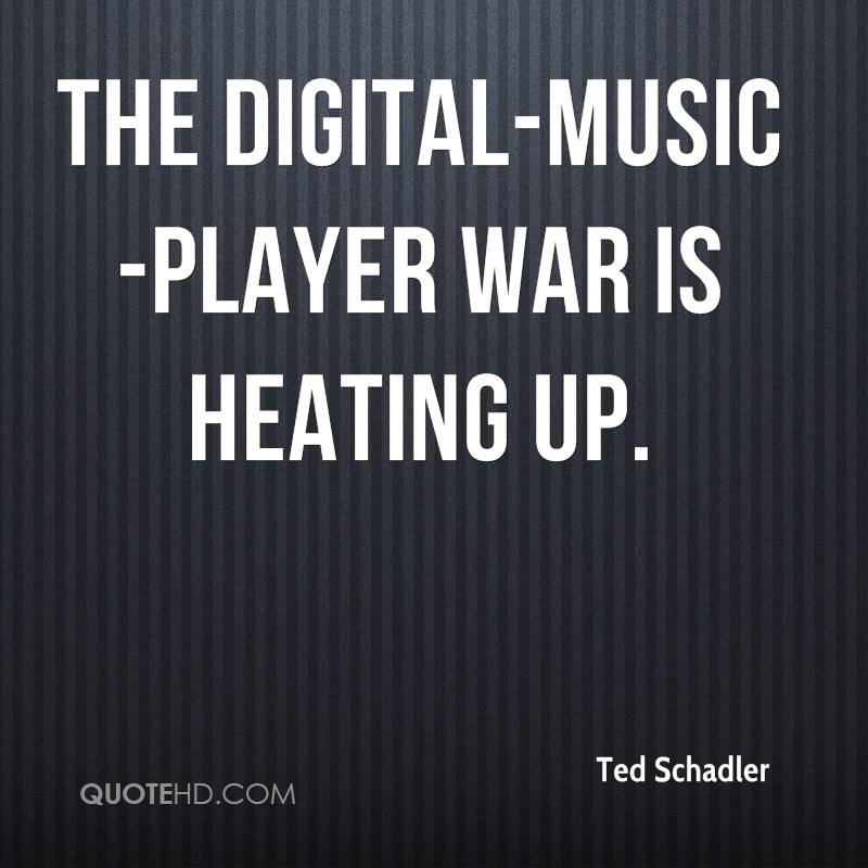 The digital-music-player war is heating up.