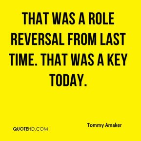 Tommy Amaker  - That was a role reversal from last time. That was a key today.