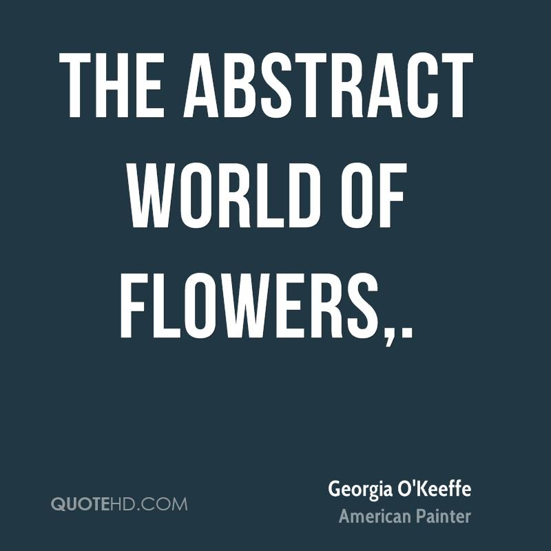 The Abstract World of Flowers.