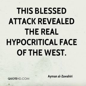 This blessed attack revealed the real hypocritical face of the West.