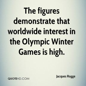 The figures demonstrate that worldwide interest in the Olympic Winter Games is high.