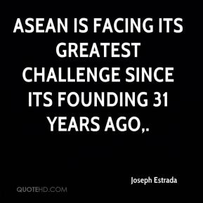 ASEAN is facing its greatest challenge since its founding 31 years ago.