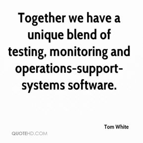 Together we have a unique blend of testing, monitoring and operations-support-systems software.