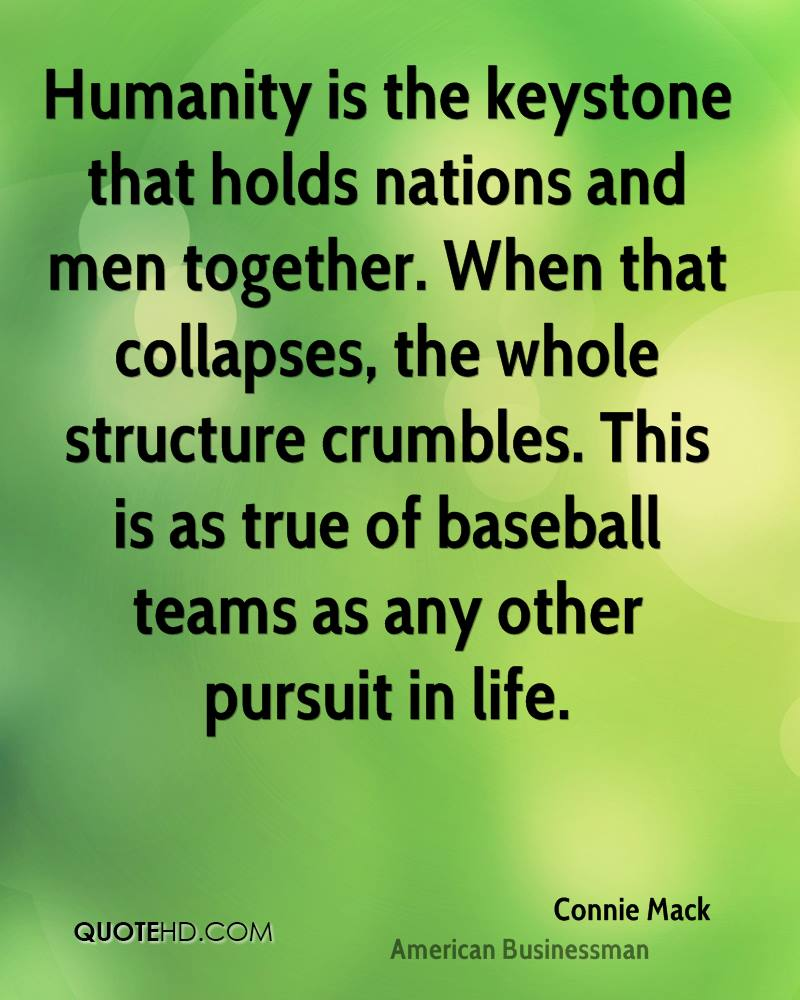 Baseball Love Quotes Connie Mack Quotes  Quotehd