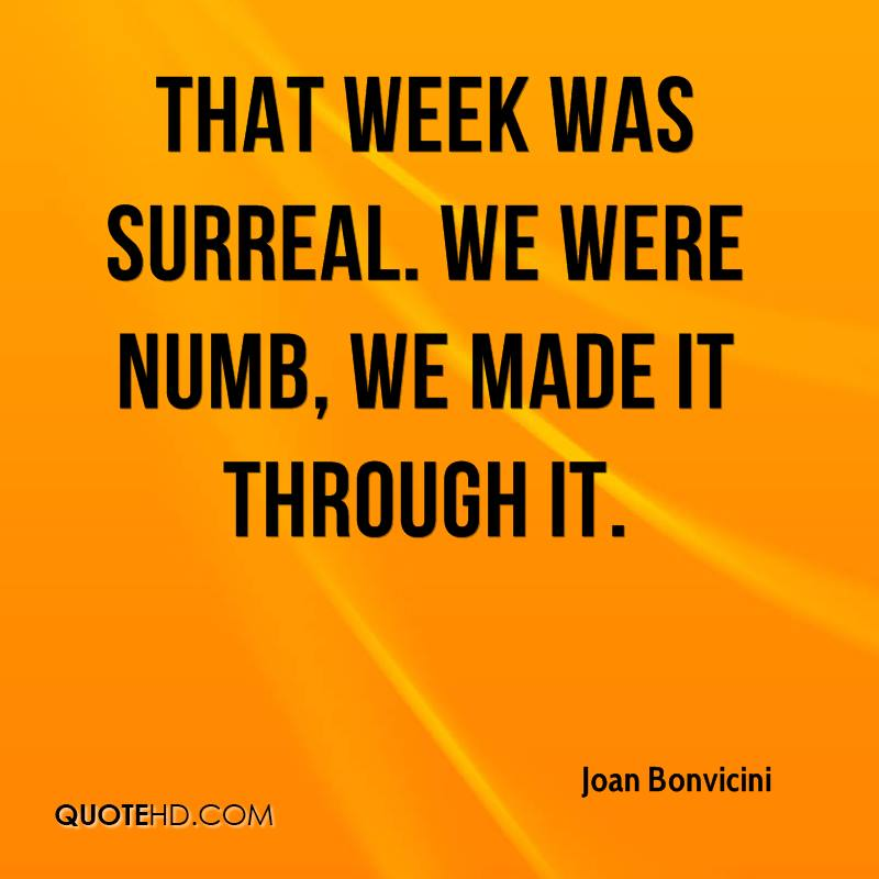 Joan Bonvicini Quotes QuoteHD Fascinating We Made It Quotes