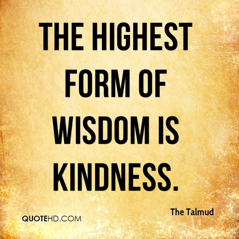 Quote About Kindness Pleasing The Talmud Quotes  Quotehd