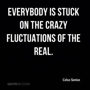Celso Senise - Everybody is stuck on the crazy fluctuations of the real.